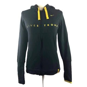 Nike Fit Dry Livestrong Black & Yellow Hoodie